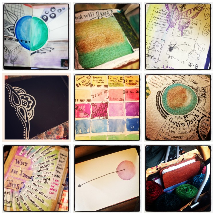 journaling collage