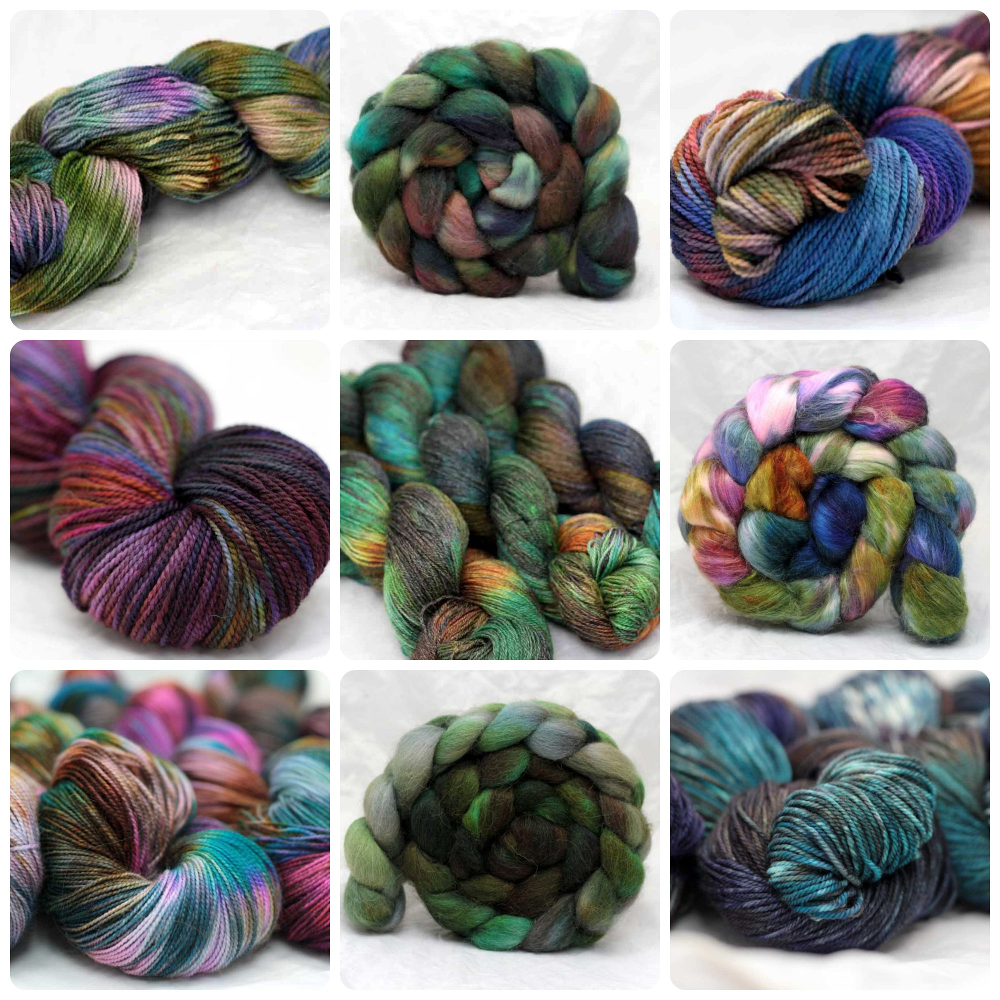 Hand Spun Art Yarn for fiber artist
