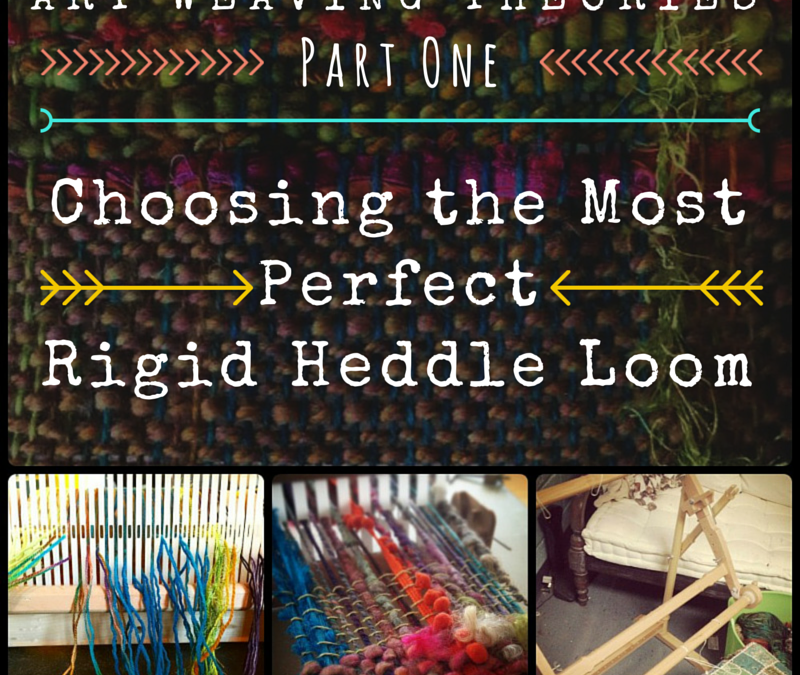 Art Weaving Part 1: Picking a rigid heddle loom