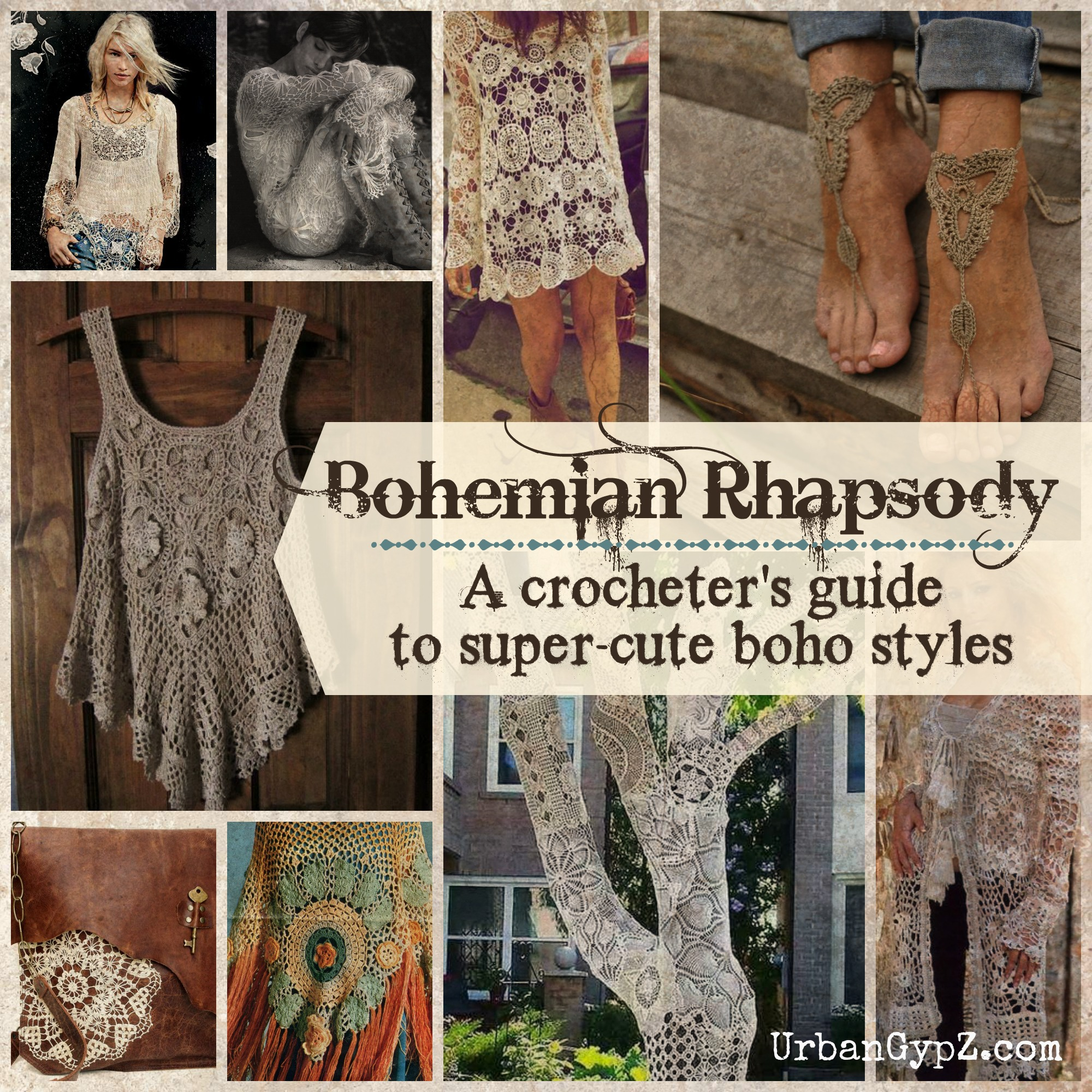 Boho Crochet Patterns : Bohemian Rhapsody: A guide to boho crochet patterns UrbanGypZ