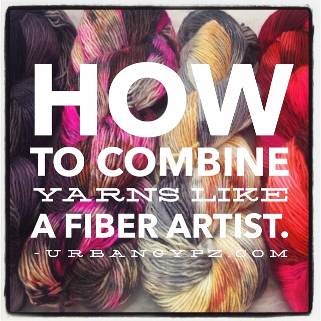 How to Combine Yarns Like a Fiber Artist