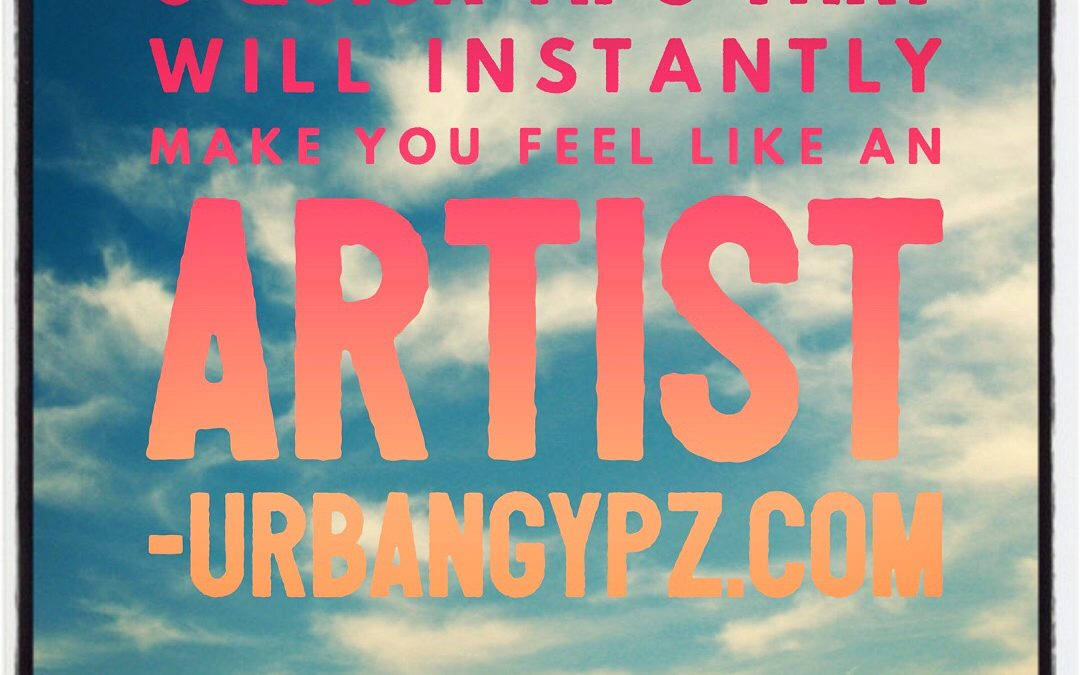 5 quick tips that will instantly make you feel like an artist