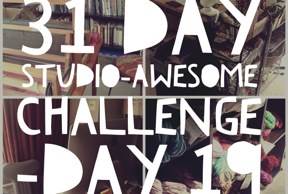 Studio Awesome Challenge Day 19: Yay progress on the WIPs and Stash