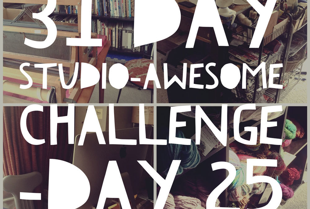 Studio Awesome Challenge Day 25: My Perpetual WIPs