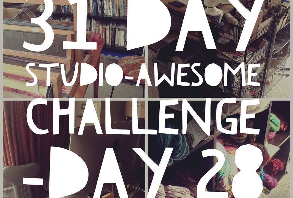 Studio Awesome Challenge Day 28: The other art I do