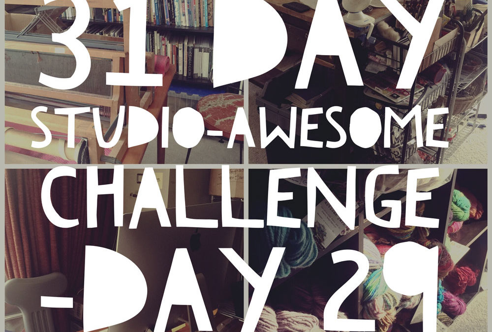 Studio Awesome Challenge Day29: the home stretch