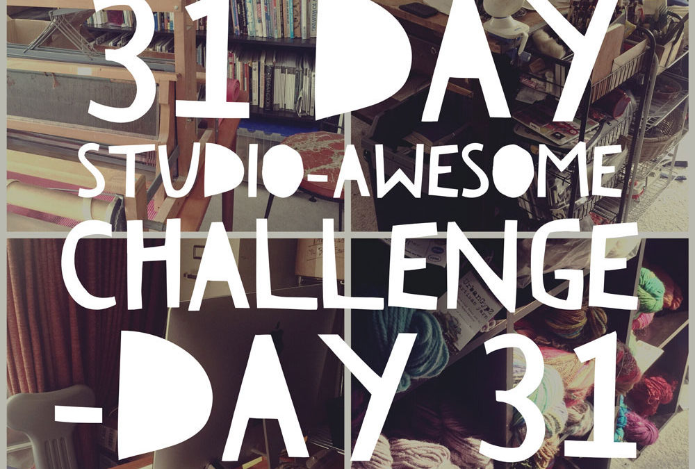 Studio Awesome Challenge Day 31: Finis…for now