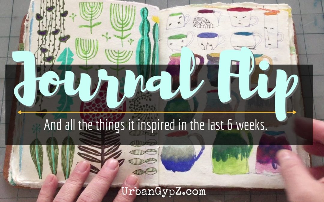 Check out my art journal and the art it helped me make