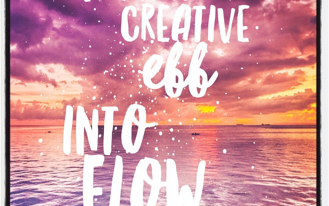 Turning Creative Ebb into Flow in 21 Days